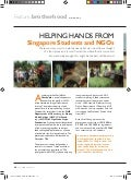 Helping hands from Singapore Students and NGOs