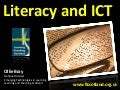 Literacy, CfE and ICT