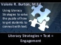 Literacy strategies for LCTE