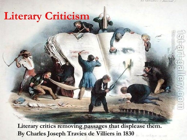 Critical/Literary Analysis?