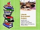 Literate environment analysis prese...
