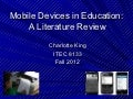 King-Mobile Technology in Education.ppt