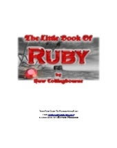 Little bookofruby