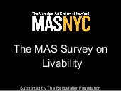 Livability survey final