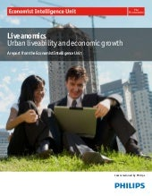 Liveanomics urban liveability and e...