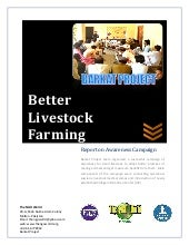 Livestock farmer awarness