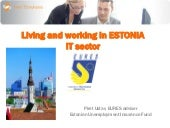 Living and working in estonia it se...