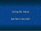 Living for jesus 3