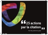 25 actions par la citation pour fai...