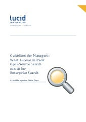 What Lucene and Solr Open Source Se...