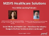 Social Media and Health Care – How ...