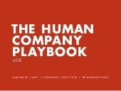 The Human Company Playbook for Startups