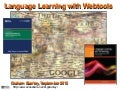 Language Learning with Webtools