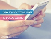 How to Move Your Team to Social Selling