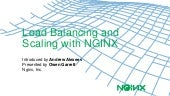 Load Balancing and Scaling with NGINX