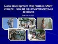 Local Development Programmes in UNDP Ukraine