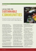 Local Food for Sustainable Communities