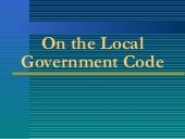The Philippine Local Government Code