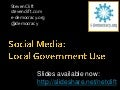 Social Media: Local Government Use