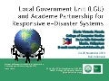 Local Government Unit (LGU) and Academe Partnership for Responsive e-Disaster Systems