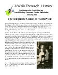 January 2008: The Telephone Comes to Westerville