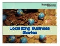 Localizing National and International Business Stories by Linda Austin