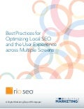 Whitepaper: Best Practices for Optimizing Local SEO and the User Experience across Multiple Screens