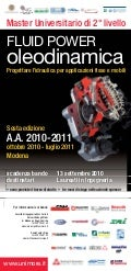 Locandina oleodinamica 2010 fluid power 6 ed def