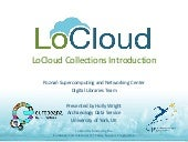 LoCloud Collections Introduction