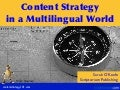 Content Strategy in a Multilingual World