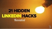 22 Hidden LinkedIn Hacks Revealed