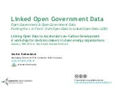 Linking Open Data to Accelerate Low...