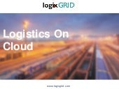 LogixGrid ERP - Logistics On Cloud