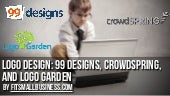 Logo design: 99Designs vs. crowdSpr...