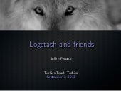 Logstash and friends