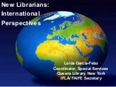 New Librarians: International Persp...