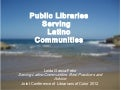 Libraries Serving Latino Communities