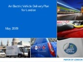 London Electric Vehicles Plan 2009