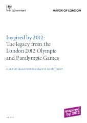 Report: London 2012 Olympics 'have ...