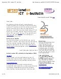 London Ict E Bulletin Sep 2009