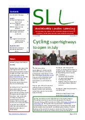 London RCE newsletter (first issue)