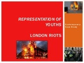London riots jan's presentation