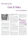 Minimizing the Cost of Risks in LTC Facilities - Edward Sims, TIS Insurance Services, Inc.