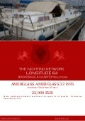 AMERGLASS AMERGLASS 32, 1976, 25.900 € For Sale Yacht Brochure. Presented By longitude64.ch