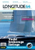Longitude 64 Sailboats Edition magazine February 2012 issue - Luxury Yacht Brokerage and Yacht Charter
