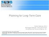 How To Position Long Term Care Insu...
