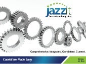Overview of Jazzit Fundamentals