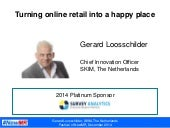 """Turning online shops into a happy place"" from the Festival of #NewMR"