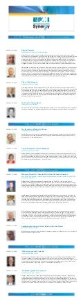 PMI UK Synergy 2013 - Full Program - LoRes