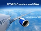 Los Angeles HTML5 User Group Meetin...